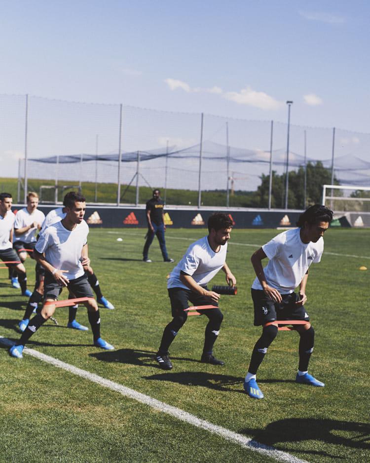 FIFA ワールドカップ ロシア adidas グローバル メディアデー トレーニングセッション スプリントスパイク X18 2