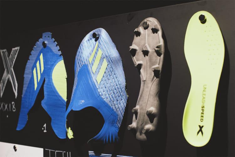 FIFA ワールドカップ ロシア adidas グローバル メディアデー スプリントスパイク X18 開発 2