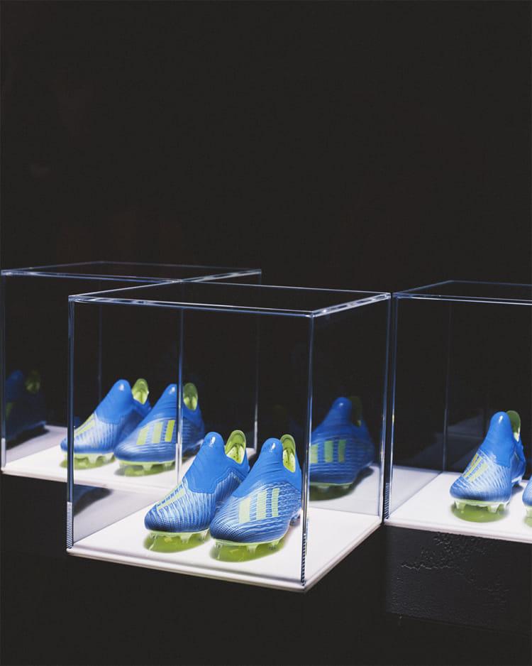 FIFA ワールドカップ ロシア adidas グローバル メディアデー スプリントスパイク X18