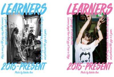 "LEANERS バンド 写真展 LEARNERS YUKIKO ONO ""THREE 100"" フライヤー サムネイル"